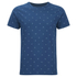Universal Works Men's Cross Jersey Print T-Shirt - Blue: Image 1