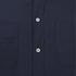 Universal Works Men's Poplin Stoke Shirt - Navy: Image 3
