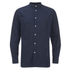 Universal Works Men's Poplin Stoke Shirt - Navy: Image 1