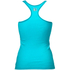 Better Bodies Women's N.Y Rib T-Back Tank Top - Aqua Blue: Image 2