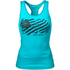 Better Bodies Women's N.Y Rib T-Back Tank Top - Aqua Blue: Image 1