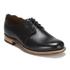 Grenson Women's Dulcie Leather Wave Top Derby Shoes - Black: Image 5