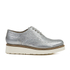 Grenson Women's Emily V Grain Leather Brogues - Silver: Image 1