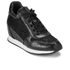 Ash Women's Dream Lace Wedged Trainers - Black: Image 2