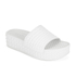 Ash Women's Scream Flatform Slide Sandals - White: Image 3