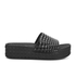 Ash Women's Scream Flatform Slide Sandals - Black: Image 1