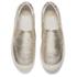 Ash Women's Jungle Leather Flatform Slip-on Trainers - Platine: Image 2