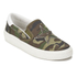 Ash Women's Nikita Canvas Slip-on Trainers - Army White/Army: Image 4