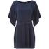 VILA Women's Macu Tie Dress - Total Eclipse: Image 1