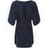 VILA Women's Macu Tie Dress - Total Eclipse: Image 2