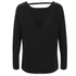 VILA Women's Unless Long Sleeve Top - Black: Image 2