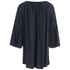 VILA Women's Alantata Long Sleeve Tunic Dress - Total Eclipse: Image 2