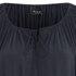 VILA Women's Licia Short Sleeve Blouse with Tie Detail - Total Eclipse: Image 3