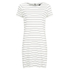 VILA Women's Tinny Short Sleeve Dress - Snow White: Image 1