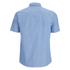 Arpenteur Men's Pyjama Short Sleeve Shirt - Blue Pique: Image 3