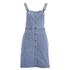 VILA Women's Lagos Denim Spencer Dress - Light Blue Denim: Image 1