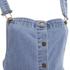 VILA Women's Lagos Denim Spencer Dress - Light Blue Denim: Image 3