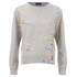 Polo Ralph Lauren Women's Paint Splatter Sweatshirt - Grey: Image 1