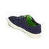 Polo Ralph Lauren Men's Faxon Canvas Trainers - Newport Navy/ Ultra Lime: Image 5