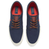 Polo Ralph Lauren Men's Faxon Low-Ne Canvas Trainers - Navy: Image 2