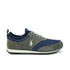 Polo Ralph Lauren Men's Ponteland Suede Sports Trainers - Museum Grey/Newport Navy: Image 1
