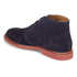 Polo Ralph Lauren Men's Carsey Suede Desert Boots - Navy: Image 4