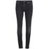 Nudie Jeans Women's Skinny Lin 'Skinny/Curved Waist' Jeans - Used Black: Image 1