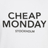 Cheap Monday Men's Standard Logo T-Shirt - White: Image 3
