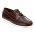 G.H Bass & Co. Men's Camp Moc Jackman Pull Up Leather Boat Shoes - Dark Brown: Image 5