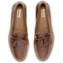 Bass Weejuns Men's Layton Pull Up Kiltie Leather Loafers - Mid Brown: Image 2