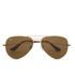 Ray-Ban Aviator Large Sunglasses 58mm - Metal Gold: Image 1