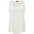 HUGO Women's Cendis Silk Vest Top - White: Image 1