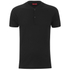 HUGO Men's Dolorado Baseball Collar Polo Shirt - Black: Image 1