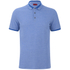 HUGO Men's Denno Collar Detail Polo Shirt - Electric Blue: Image 1