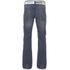 Smith & Jones Men's Farrier Belted Denim Jeans - Medium Wash: Image 2