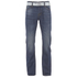 Smith & Jones Men's Farrier Belted Denim Jeans - Medium Wash: Image 1