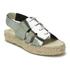 Prism Women's Palawan Tie Front Flatform Sandals - Rust Metal: Image 5