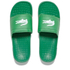 Lacoste Men's Frasier Slide Sandals - Green: Image 1