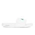 Lacoste Men's Frasier Slide Sandals - White/Green: Image 2