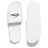 Lacoste Men's Frasier Slide Sandals - White/Green: Image 5