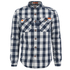Superdry Men's Rookie Flannel Shirt - Navy: Image 1