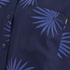 OBEY Clothing Women's Raven Palm Fan Short Sleeve Shirt - Navy Multi: Image 4