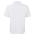 AMI Men's Tailored Collar Short Sleeve Shirt - White: Image 2