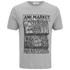 AMI Men's Market Print T-Shirt - Heather Grey: Image 1