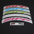 Zipp 303 Colour Wheel Decal Set 2016