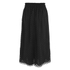 Carven Women's Laser Cut Long Skirt - Black: Image 2