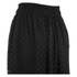 Carven Women's Laser Cut Long Skirt - Black: Image 3