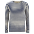 Nudie Jeans Men's Otto Raglan Sleeve Top - Off White/Navy: Image 1