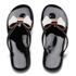 Ted Baker Women's Ettiea Jelly Bow Flip Flops - Black/Cream: Image 1