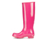 Hunter Women's Original Tall Gloss Wellies - Bright Cerise: Image 4
